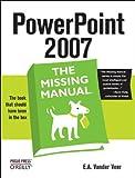 PowerPoint 2007, E. A. Vander Veer, 0596527381