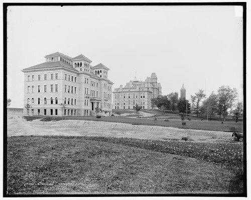 Photo: Syracuse University,educational facilities,New York,Detroit Publishing - In York Syracuse New Shopping