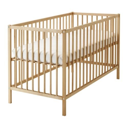 Ikea Crib, beech 1026.142617.186