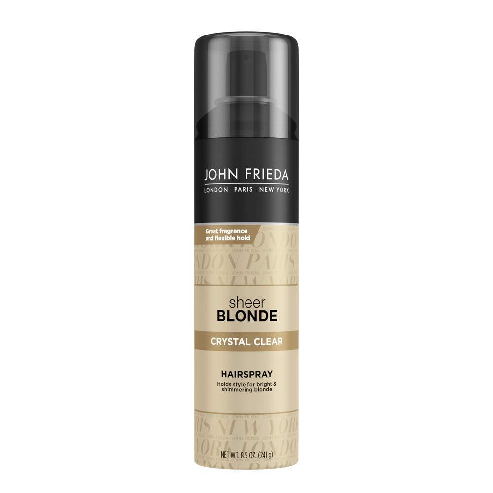 John Frieda Sheer Blonde Crystal Clear Hairspray, 8.5 Ounces by John Frieda