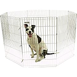 Precision Pet Silver ExPen with Snaps Boxed