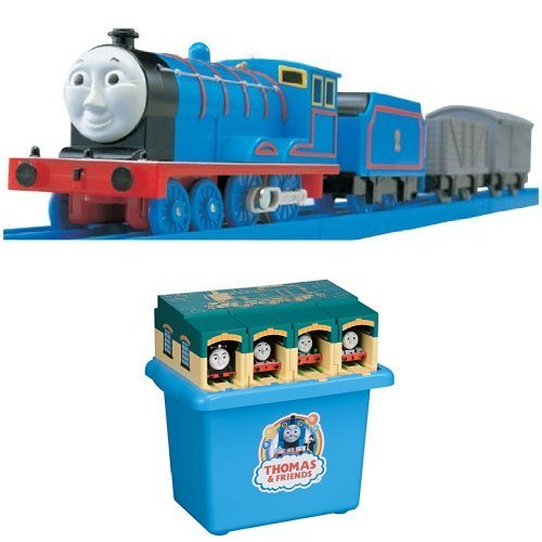 Plarail Thomas TS-02 Edward collapsible agency cabinet set