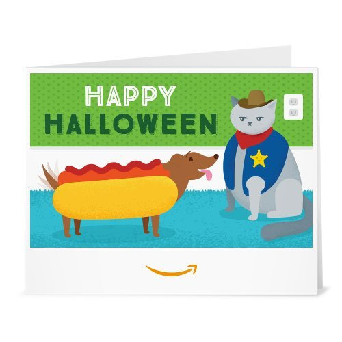 Halloween Ecards Costume (Amazon eGift Card - Print - Pet Costumes)