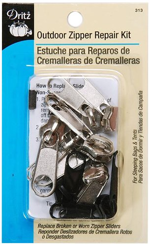 Head Zipper Pull - Dritz 313 Outdoor Zipper Repair Kit