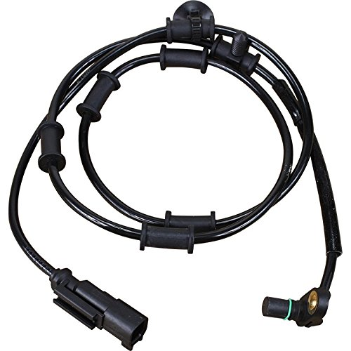 AIP Electronics ABS Anti-Lock Brake Wheel Speed Sensor Compatible Replacement For 2009-2012 Dodge Ram 4WD Front Left Driver 52122426AB Oem Fit ABS977