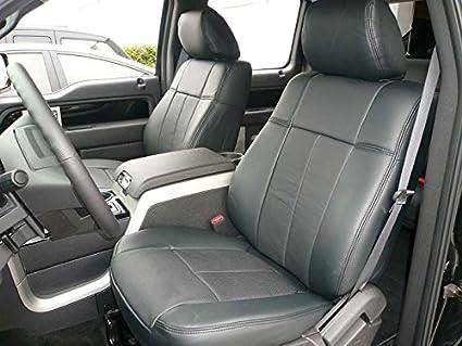 Outstanding Clazzio Leather Seat Covers For 2015 Ford F150 Super Crew Black Inzonedesignstudio Interior Chair Design Inzonedesignstudiocom