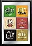 Close Up Premium Beer Mirror