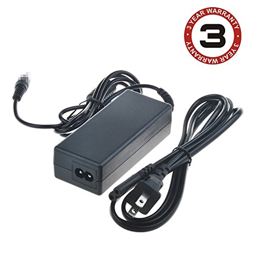 SLLEA AC/DC Adapter for Magicard Enduro+ Plus, Enduro Duo MAG, Tempo, MC200, Rio Pro & Pro Duo ID Card Printer Replacement Power Supply Cord