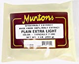 Home Brew Ohio Muntons Plain Extra Light Dry Malt Extract 1 lb.