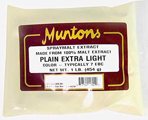 Home Brew Ohio Muntons Plain Extra Light Dry Malt Extract 1 lb.