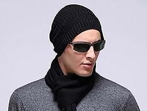 Kint esquí hombres mtong Santic Beanies DIGITALJIMS sombrero invierno actividad al aire libre, caza, pesca, senderismo, etc., negro