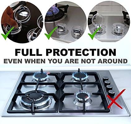 Protección Para Mandos del Horno y Estufa - Protectores de ...