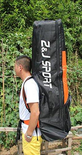 ZJ SPORT Dragon Boat Paddle Team Bag With Wheels by Z&J SPORT (Image #6)
