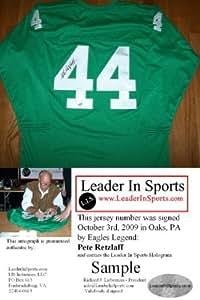 Pete Retzlaff Autographed Jersey Philadelphia Eagles At