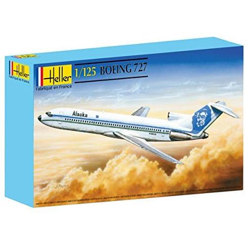 Heller 80447 - Construction Et Maquettes - Boeing 727 - Echelle 1/125ème