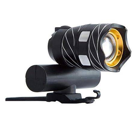 Dixinla Luz de Bicicleta Noche de linternas Cargador USB Viaje ...