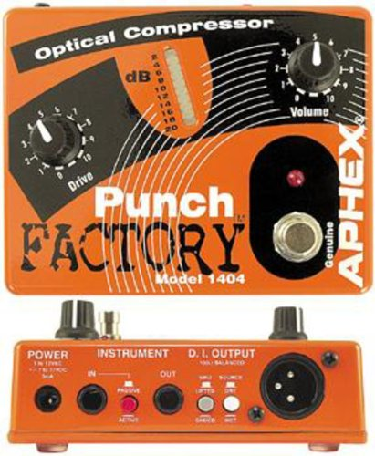 Aphex Punch (Aphex 1404 Punch Factory Optical Compression Pedal)