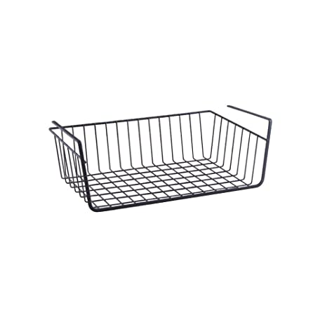 Amazon.com: Under estante rack Organizador de Cocina cesta ...