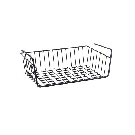 Amazon.com: Under estante rack Organizador de Cocina cesta ...