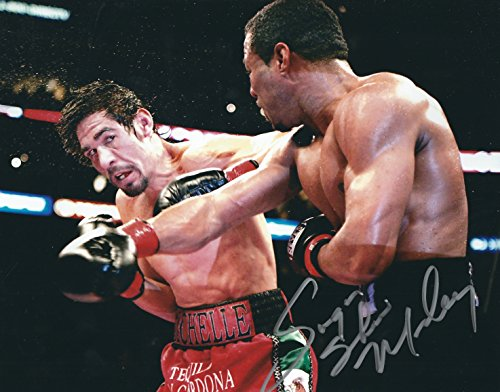 Sugar Shane Mosley Autographed 8X10 WBC Boxing Photo