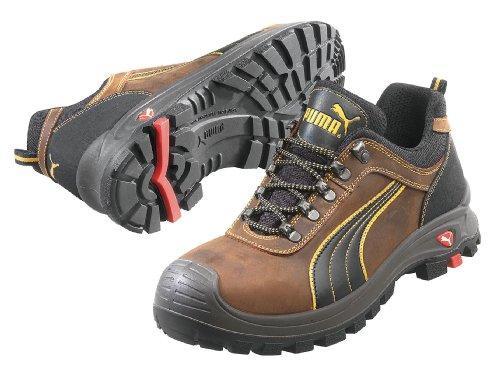 Chaussures, Composite Orteil, Cuir, Marron, 7, Pr