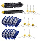18PCS/Set Bristle Flexible Beater Brush Filter for iRobot Roomba 600 Series Vacuum Cleaner Accessories