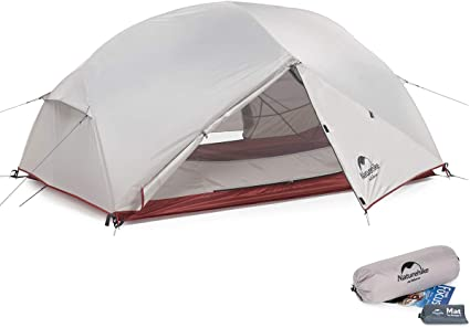 2-3 Person 210T Double-layer Tent Outdoor Camping Travel Waterproof 4 Season