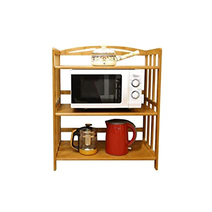 Outstanding Microwave Oven Rack Shelf Sideboard Tea Cabinet Kitchen Home Interior And Landscaping Synyenasavecom