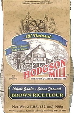 Hodgson Mills Brown Rice Flour 2 Lb (Pack of (Brown Rice Flower)