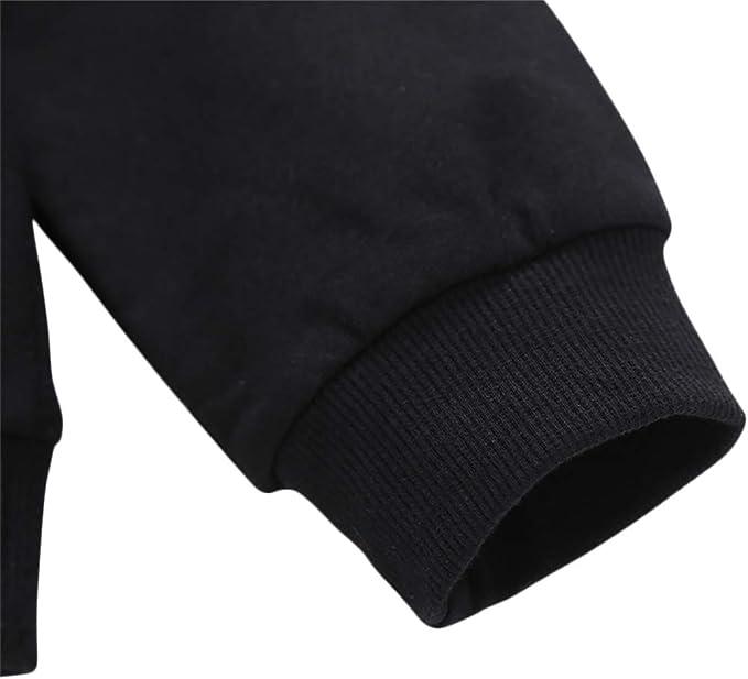 Miyanuby Enfants Gar/çons Pull-Over /à Manches Longues Sweatshirt T-Shirt Broderie Sapin De No/ël Hauts V/êtements Bebe Gar/çons 1-11 Ans