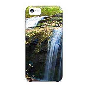 5c Scratch-proof Protection Cases Covers For Iphone/ Hot Dual Cascades Phone Cases