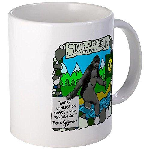 - CafePress State Of Jefferson Mug Unique Coffee Mug, Coffee Cup