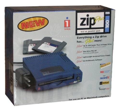 Iomega 100MB Zip Plus Disk Drive - Dual SCSI and Parallel Ports by Iomega Zip Drive