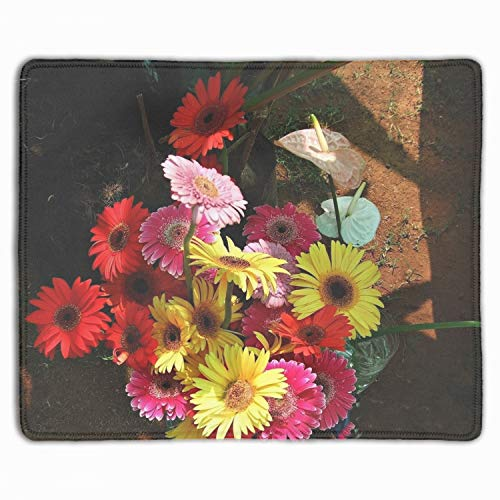 Gerbera Anthurium Flower Flowers Vases Gaming Mouse Pad