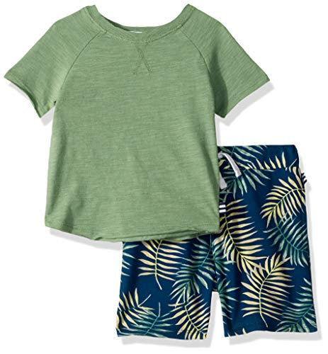 Splendid Boys Kids and Baby Short Sleeve Tee Shirt and Bottom 2 Piece Set