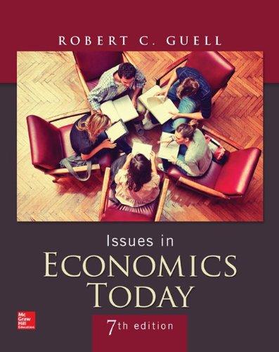 Issues in Economics Today (The Mcgraw-hill/Irwin Series in Economics)