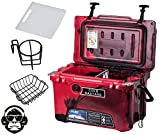 10. 20QT CAMO RED Cold Bastard Rugged Series ICE Chest Cooler Free Accessories YETI Quality Free S&H