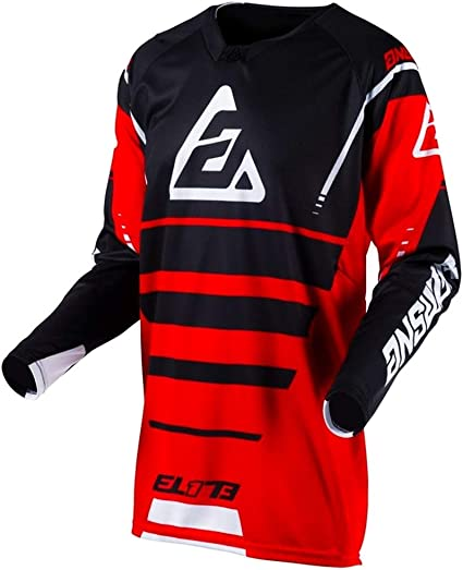 Answer Racing A19 Syncron Drift Mens Off-Road Motorcycle Jersey Flo Orange//Charcoal//Small