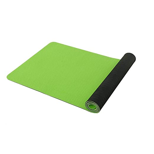 TPE Material de protección del medio ambiente Estera de yoga ...