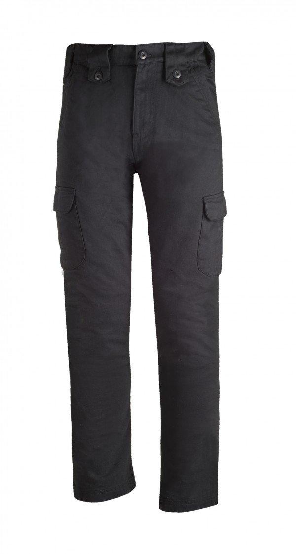 Bull-It SR6 Cargo Easy Fit Jeans 38 x 34 Black