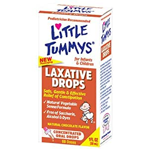 Little Tummys Laxative Drops 1 FL Ounce