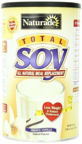 Remplacement Naturade totale de farine de soja, vanille française, 37,14 oz 5,14 oz £ 2 1053 g