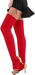 Ben-gi 1 Pair Women Girls Leg Warmers Socks Long Footless Socks Winter Autumn Dance Yoga Ballet Stockings