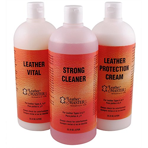 Leather Master Strong Leather Care Bundle - Liters