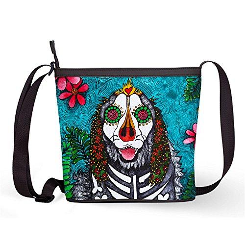 Sling Female Shoulder and Skull Crossbody Fashion Bag Popular Sling Bag with Casual Bag37 Print Sugar Sugar Bag qUqTI
