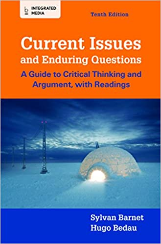 Book Current Issues and Enduring Questions: A Guide to Critical Thinking and Argument, with Readings