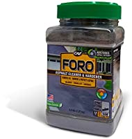 FORO® is an all-natural asphalt cleaner that uses a time-driven process and nature's own biochemistry to completely remove unsightly petroleum stains from asphalt. FORO® uses billions of active microbes to break down hydrocarbon chains of pet...
