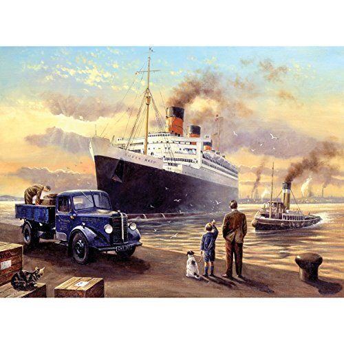 Royal & Langnickel Painting by Numbers Adult Large Art Activity Kit, Queen Departs