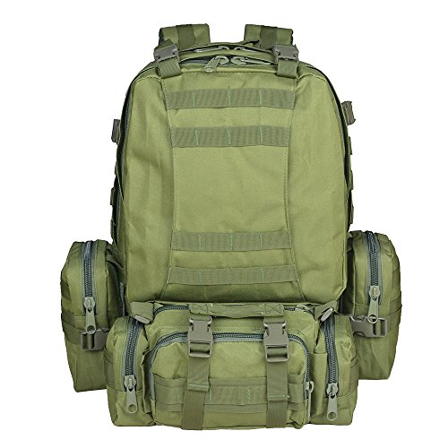 30L Army Tactical Combat Backpack Outdoor Trekking Army Backpack - 2