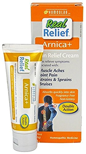 1.76 Ounce Soap - Homeolab USA Real Relief Arnica Pain Relief Cream - 1.76 oz